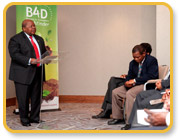 Speech by Benjamin Mkapa at the B4D launch